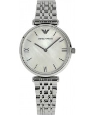 Emporio Armani AR1682 Ladies Pearl and Silver Dress Watch