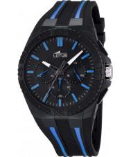 Lotus 18185-1 Mens Lotus R Blue Black Chronograph Watch