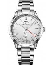 Rotary GB90181-02 Mens Les Originales Tradition Silver Steel Bracelet Watch