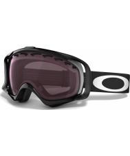 Oakley 59-753 Crowbar Jet Black - Prizm Rose Ski Goggles