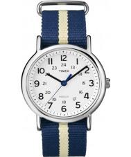 Timex Originals T2P142 Blue Weekender Slip Through Watch
