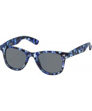 Polaroid PLD6009-SM PRK C3 Blue Camouflage Polarized Sunglasses