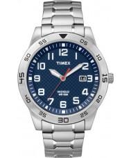 Timex TW2P61500 Mens Fieldstone Way Silver Steel Bracelet Watch