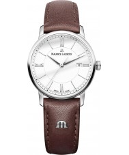 Maurice Lacroix EL1094-SS001-110-1 Ladies Eliros Brown Leather Strap Watch