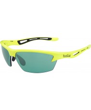 Bolle Bolt Neon Yellow CompetiVision Gun Tennis Sunglasses