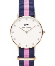 Daniel Wellington DW00100077 Ladies Classy Winchester 34mm Rose Gold Watch