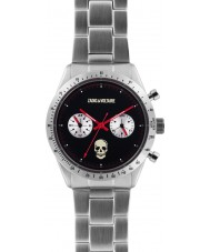 Zadig and Voltaire ZVM121 Master Silver Steel Chronograph Watch