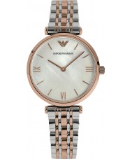 Emporio Armani AR1683 Ladies Pearl and Rose Gold Dress Watch
