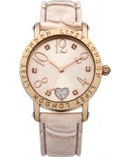 Lipsy LP150 Ladies All Cream Croc Leather Watch