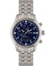 Rotary GB02680-05 Mens Timepieces Blue Steel Watch