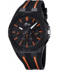 Lotus 18185-2 Mens Lotus R Orange Black Chronograph Watch
