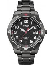 Timex TW2P61600 Mens Fieldstone Way Black Steel Bracelet Watch