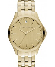 Armani Exchange AX2167 Mens Dress Gold Plated Bracelet Watch
