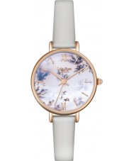Lola Rose LR2042 Ladies Light Grey Leather Strap Watch