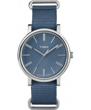 Timex Originals TW2P88700 Tonal Blue Nylon Strap Watch