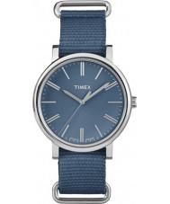 Timex Originals TW2P88700 Tonal Blue Nylon Strap Watch