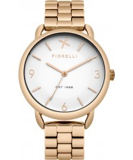 Fiorelli FO023RGM Ladies Rose Gold Plated Bracelet Watch