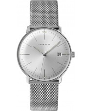 Junghans 041-4463-44 Max Bill Silver Steel Bracelet Watch