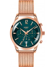 Henry London HL39-CM-0142 Ladies Stratford Mallard Green Rose Gold Chronograph Watch