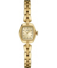 Bulova 97L155 Ladies Vintage Gold Plated Bracelet Watch