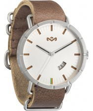 House of Marley WM-FA004-SD Mens Hitch Leather Saddle Watch