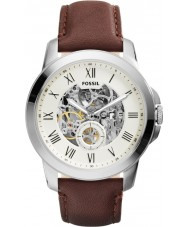 Fossil ME3052 Mens Grant Brown Leather Strap Watch