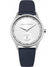 French Connection FC1272U Ladies Blue Leather Strap Watch