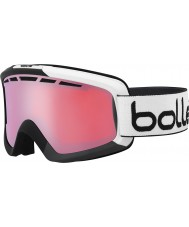 Bolle 21472 Nova II Matte Black and Grey - Vermillon Gun Ski Goggles