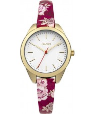 Oasis B1582 Ladies Multicolour PU Strap Watch
