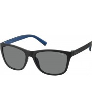 Polaroid Mens PLD3011-S LLK C3 Black Blue Polarized Sunglasses