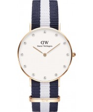 Daniel Wellington DW00100078 Ladies Classy Glasgow 34mm Rose Gold Watch