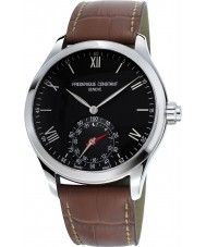 Frederique Constant FC-285B5B6 Mens Horological Smartwatch Brown Leather Strap Watch