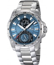 Lotus 15843-2 Mens Blue Silver Multifunction Watch