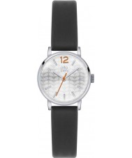 Orla Kiely OK2041 Ladies Frankie Black Leather Strap Watch