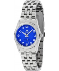 Marea 21161-5 Ladies Fashion Silver Steel Bracelet Watch