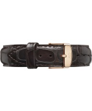 Daniel Wellington DW00200093 Dapper 17mm York Rose Gold Spare Strap