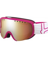 Bolle 21473 Scarlett Matte Pink and White - Modulator Citrus Gun Ski Goggles