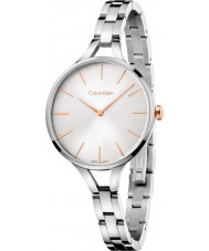 Calvin Klein K7E23B46 Ladies Graphic Silver Steel Bracelet Watch
