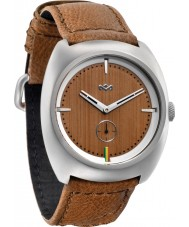 House of Marley WM-FA001-SD Mens Transport Leather Saddle Watch