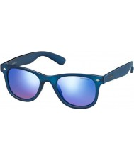 Polaroid PLD6009-SM UJO JY Blue Transparent Polarized Sunglasses