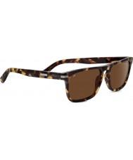 Serengeti Carlo Mossy Tortoiseshell Polarized Drivers Sunglasses