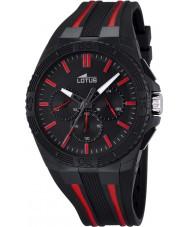 Lotus 18185-3 Mens Lotus R Red Black Chronograph Watch