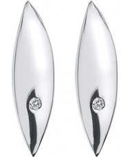 Hot Diamonds DE452 Ladies Leaf Earrings