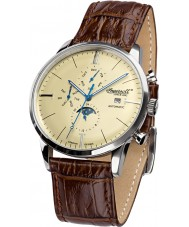 Ingersoll IN1916SCR Mens Aurora Brown Leather Strap Watch