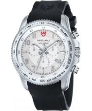 Swiss Eagle SE-9044-02 Mens Field Landmaster Black Chronograph Watch