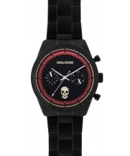 Zadig and Voltaire ZVM123 Master Black Steel Chronograph Watch