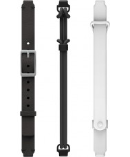 Misfit MIS9006 Ray Double Black and White Spare Straps