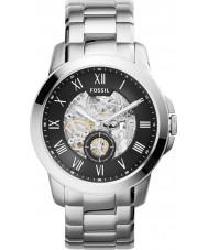 Fossil ME3055 Mens Grant Silver Steel Bracelet Watch