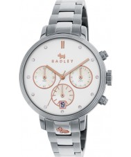 Radley RY4217 Ladies Battersea Link Silver Chronograph Watch