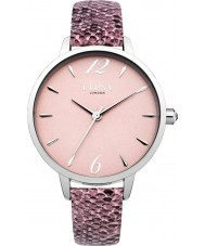 Lipsy LP458 Ladies Pink PU Strap Watch